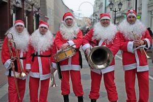 Заказать Оркестр Санта Клаусов