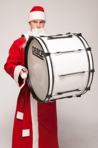 Барабанщик Дед Мороз