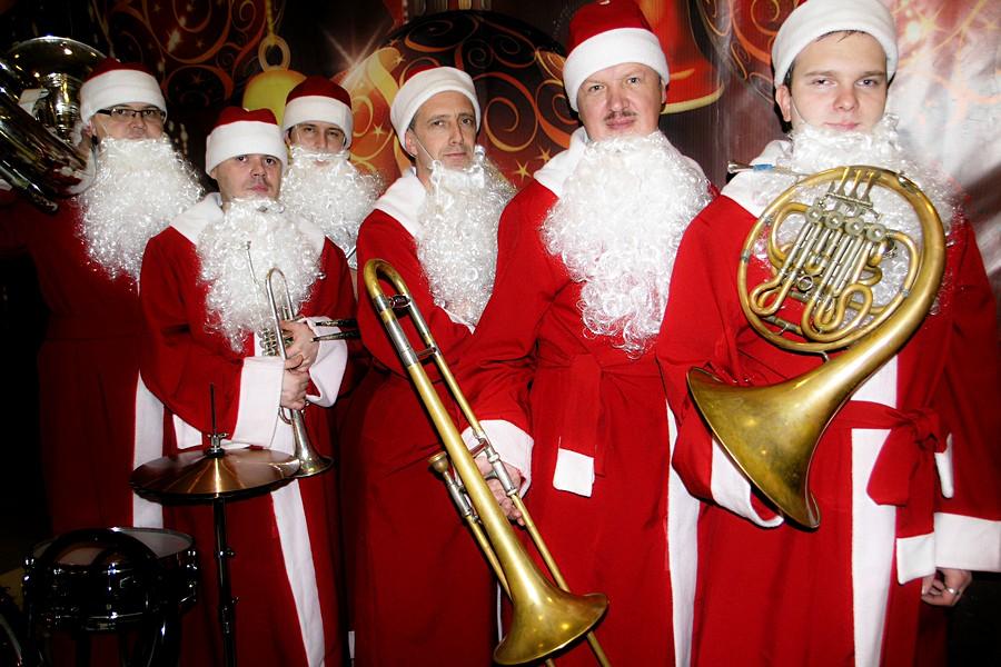 Музыканты в Новый Год