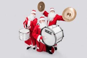 Барабанщики Дед Морозы
